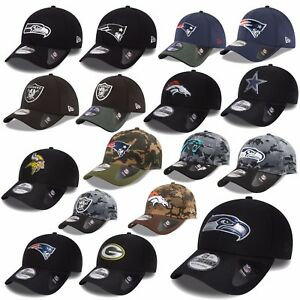 NEW-ERA-CAP-39THIRTY-NFL-BLACK-SHADOW-SEAHAWKS-PATRIOTS-RAIDERS-COWBOYS-UVM