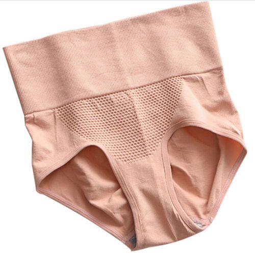 Women/'s High Waist Cotton Tummy Control Briefs Panties Everday Underwear  HS