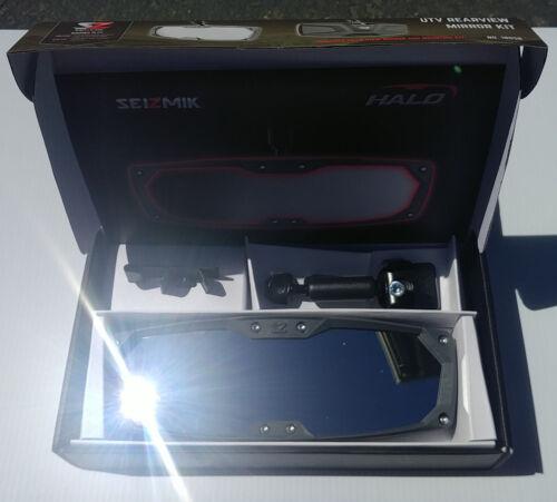 Seizmik Halo-R Rearview Mirror Gray Bezel-Ranger Mid Full Size XP 570 900 1000