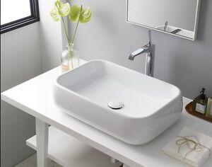 Sanitari bagno lavabo appoggio d arredo shui da cm di ceramica