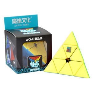 Zauberwuerfel-MoYu-Meilong-Pyraminx-stickerless-Pyramide-Original-speedcube-neu