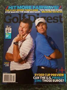 2008 09-September Golf Digest Magazine - Nick Faldo & Paul Azinger
