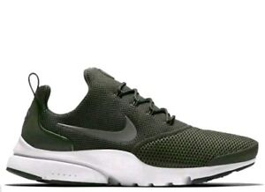 948b078d0710 Nike PRESTO FLY 908019 201 Mens Trainers Medium Olive green size 9 ...