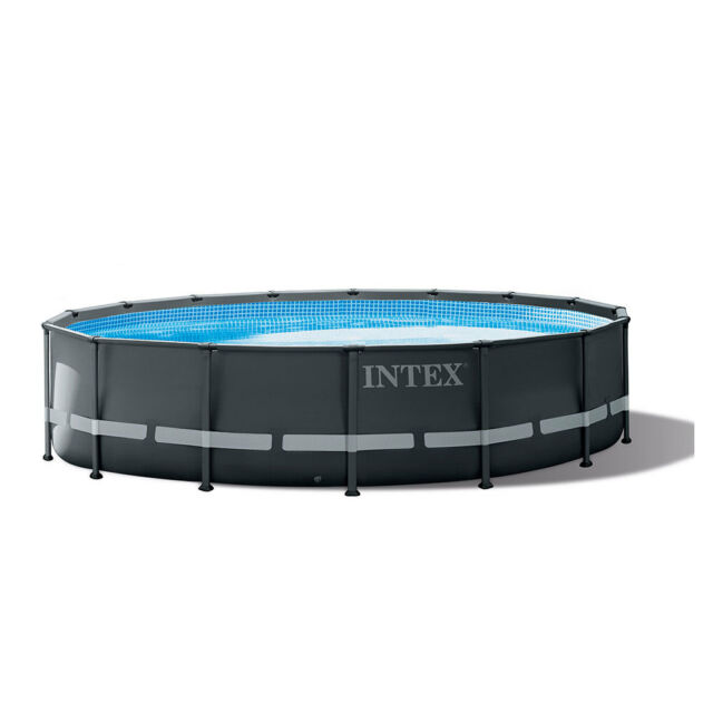 Intex 16 Foot x 48 Inch Ultra XTR Frame Above Ground Swimming Pool Set w/  Pump