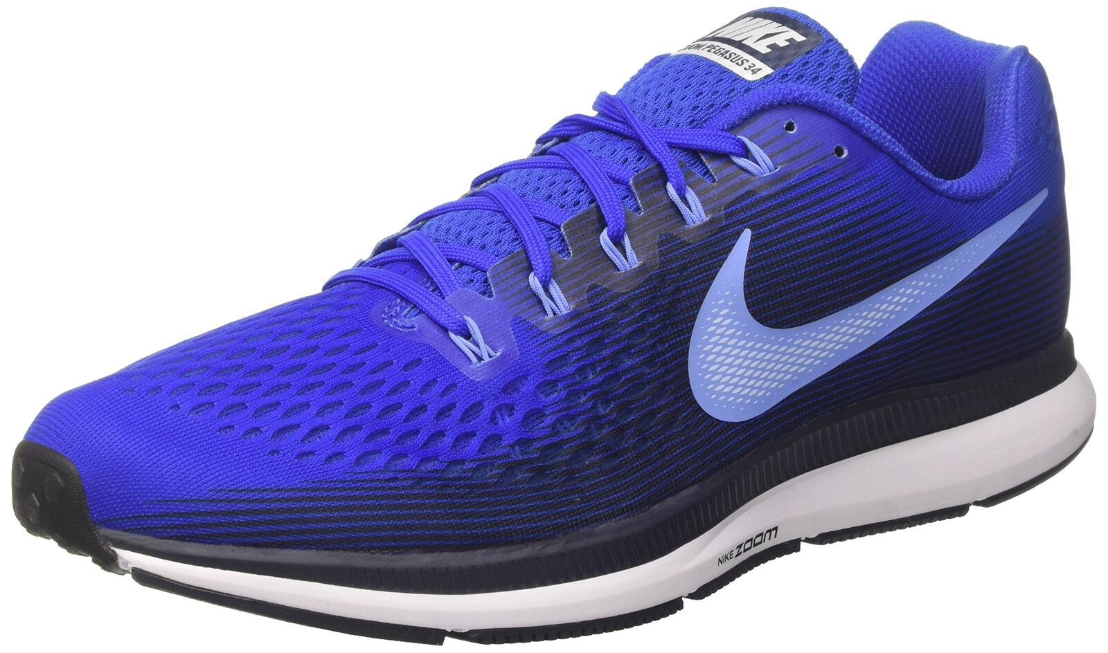 NIKE Men's Air Zoom Pegasus 34, Hyper Royal Royal Pulse, 6 M US