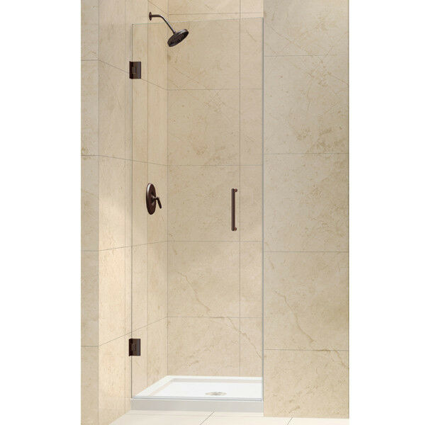 DreamLine Shdr-20307210f Unidoor 30 Inch Frameless Hinged Shower ...