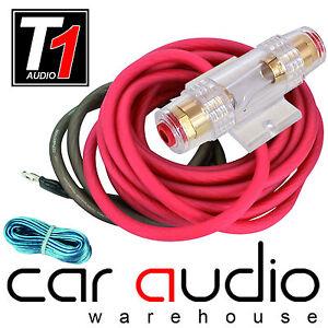 8 awg 1000 watt 8 gauge car amplifier amp sub power earth remote rh ebay ie