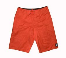 """NEW! AUTHENTIC QS MEN'S BOARDSHORTS /WATERSHORTS (RED, WAIST 25"""")"""
