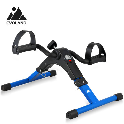Exercise Cycle Fitness Mini Pedal Stepper Bike Indoor  Exercise w//LCD Display US