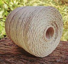 Natural Hemp Twine Cord String 1mm 350Metres Macrame Jewellery Camping Gardening