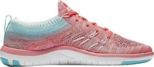 best service bbac2 057f9 ... Femmes-Nike-Gratuit-Tr-Focus-Flyknit-Clair-Melon-
