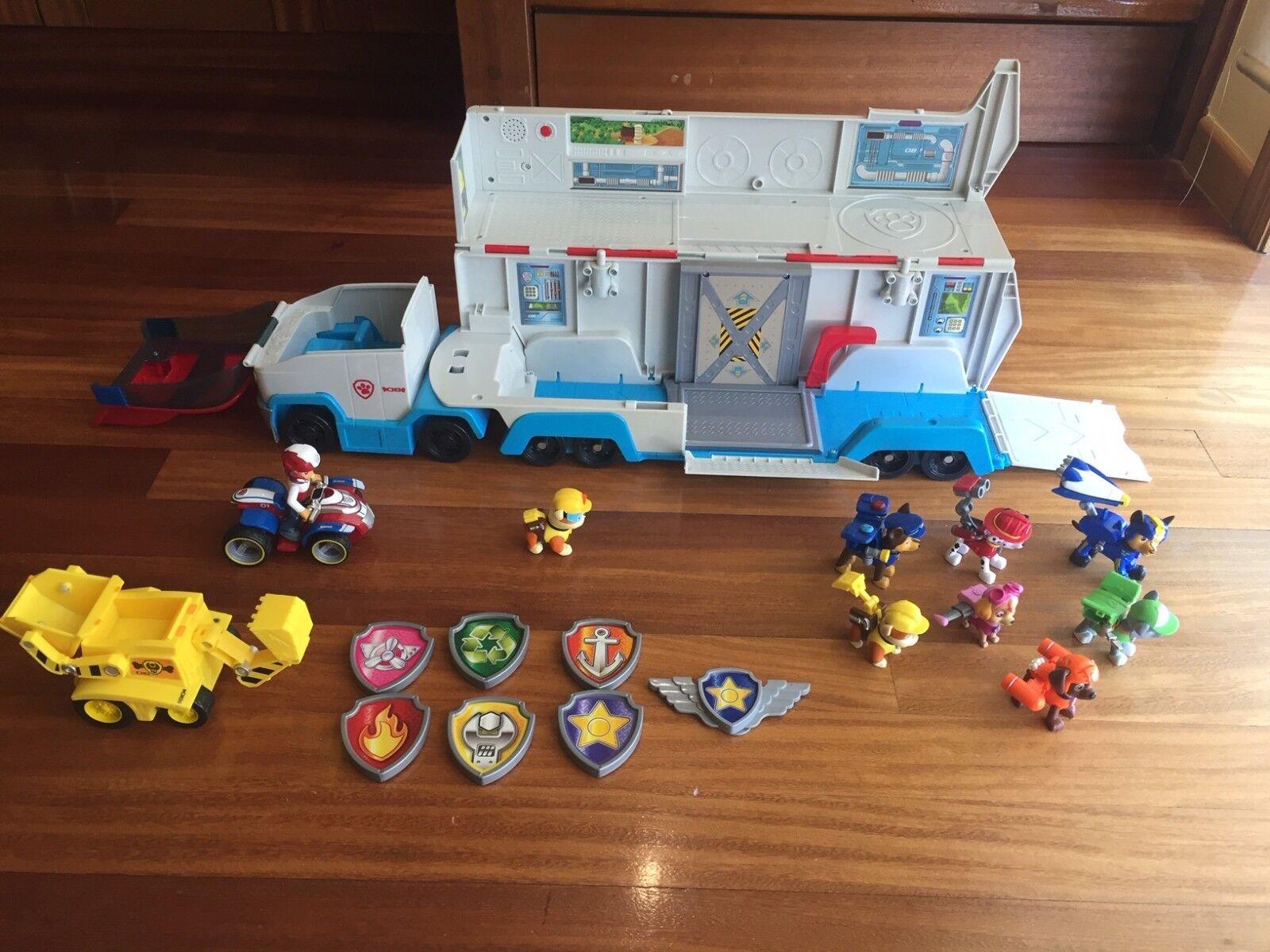 Paw Patrol - Patrulla Canina - Juego Set Camión  Quad Paw Patrol  Figuras