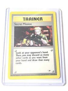 SECRET-MISSION-Gym-Heroes-Set-118-132-Uncommon-Pokemon-Card-NM