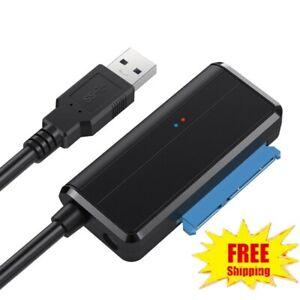 USB-3-0-To-Sata-2-5-Cable-Adaptateur-lecteur-de-disque-dur-externe-HDD-disque