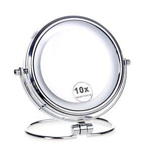 Cosmetique-Miroir-de-Augmentation-avec-Luz-LED-pour-Maquillage-Bain-Table-X-10