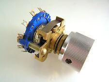 NSF PAT 1201082 Rotary Switch & Knob 12 Position Precision Made 1 piece OMA98