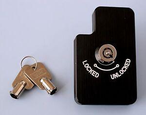FERRARI-308-308-328-348-F40-288-MONDIAL-TESTAROSSA-SECURITY-GATELOCK-BLACK