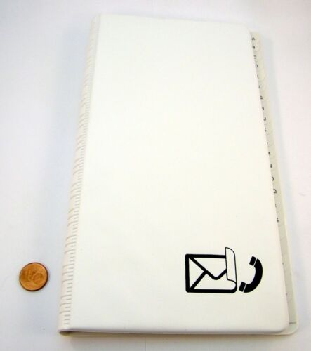 """Arlac und Adressbuch /""""Sonderburg Maxi/"""" Art Nr.43614 weiß Telefon"""