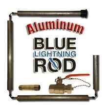 Blue Lightning Aluminum / Zinc Flexible Anode Rods, Hex Plug, with Drainage Kit