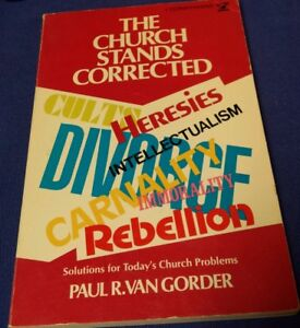 The Church Stands Corrected Solutions For Today S Church Problems 1967 Paperback Ebay