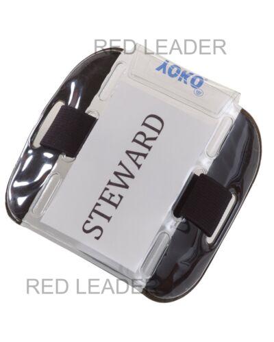 Yoko SIA ID Armband Security Badge Holder Steward Door Staff