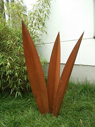 Edelrost Gartenstecker Rost Gartenskulptur Garten Figure 100 90 80cm inset