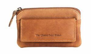 The Chesterfield Brand Oliver Keycase Clé Trousse Cognac Marron Nouveau-hen Cognac Braun Neuafficher Le Titre D'origine