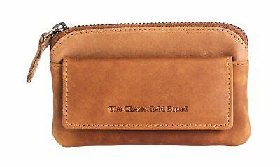 Schlussverkauf The Chesterfield Brand Oliver Keycase Schlüsselmäppchen Cognac Braun Neu