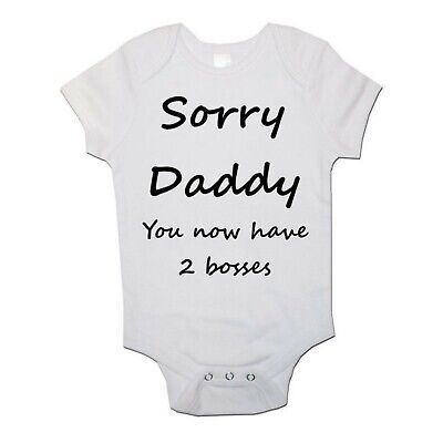 My Daddy Is One In a Minion Funny babygrow Baby vest Bodysuit Gift Present