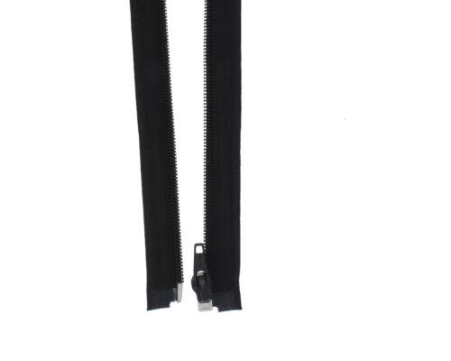 Reißverschluss PS Plastik Spiral 5-6mm lange Kunststoffreissverschlüsse Spirale