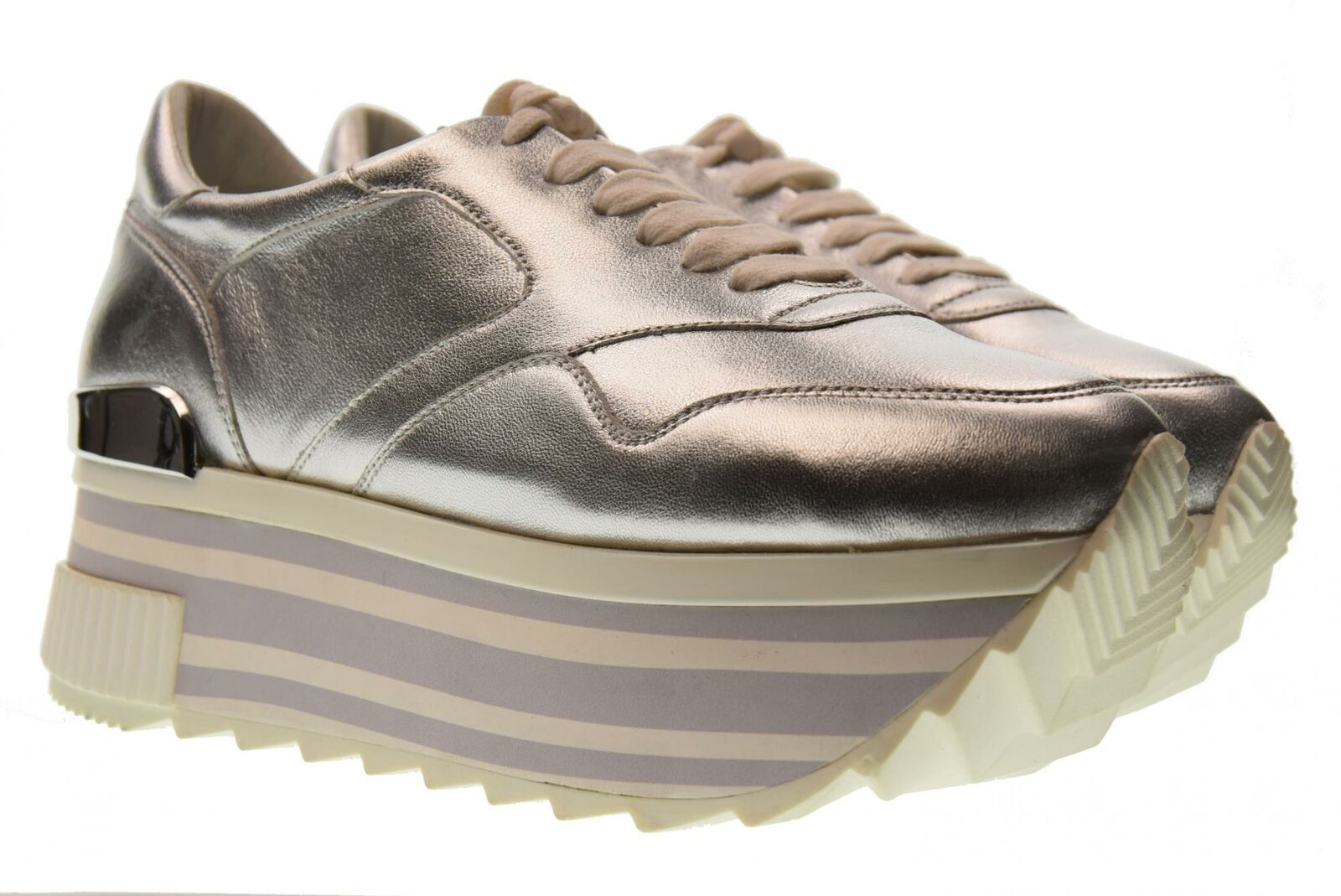 Altraofficina P18u shoes woman sneakers with platform Q1800X SILVER
