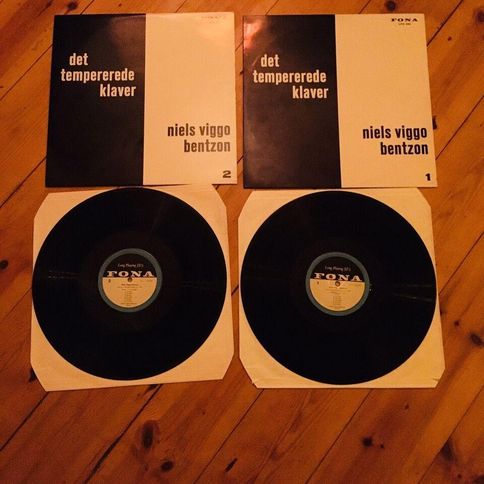 LP, Niels Viggo Bentzon, Det tempererede klaver vol I + II