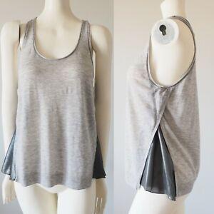 3-1-Phillip-Lim-Sleeveless-Wool-Metallic-Silk-Overlapped-Sides-Tank-Top-Gray-M