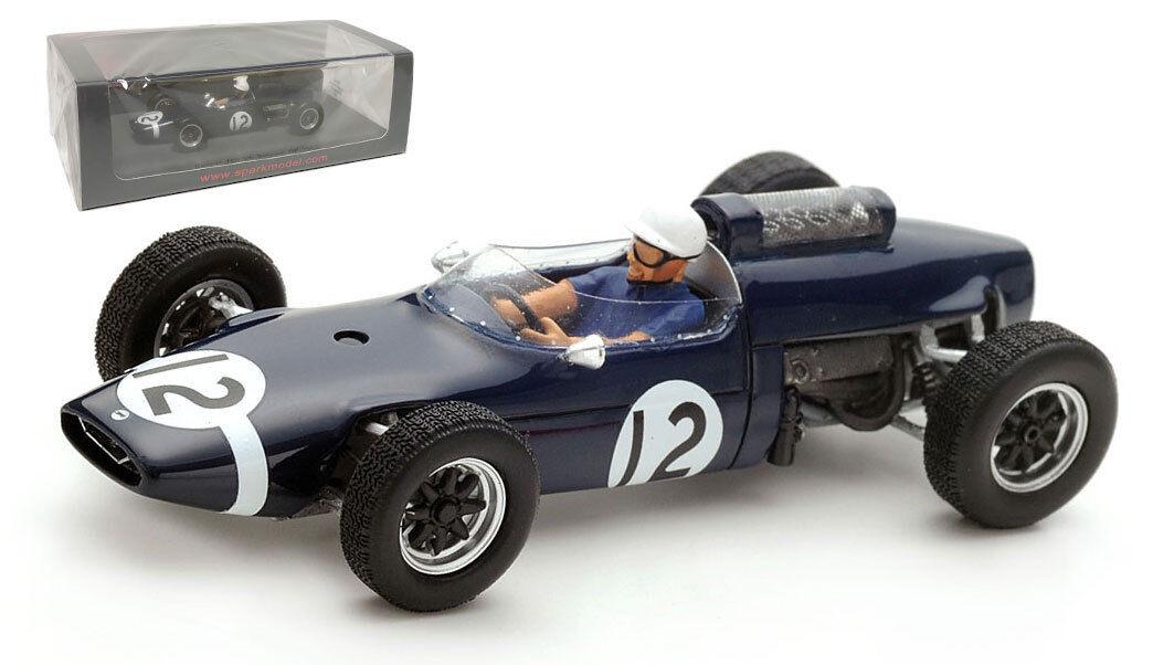 SPARK S4804 Cooper T60  12 5th GP De BELGIQUE 1963-Jo Bonnier échelle 1 43