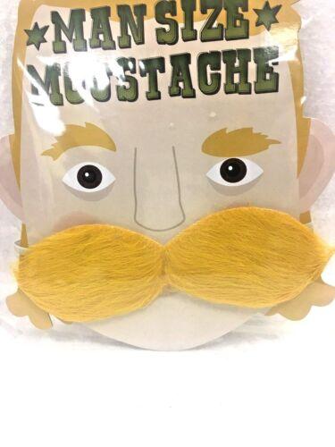 MoustacheDress Up//Stag Novelty Tash Eyebrows Beard Stick On Fancy Dress//