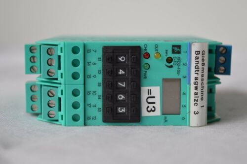 Current Converter T.029 33923 KFD2-FSU-Ex-1.D Pepperl Fuchs