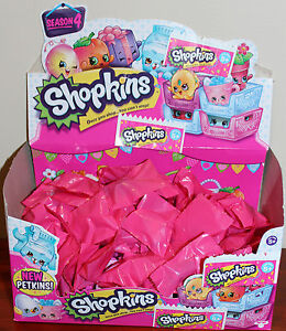 Shopkins-Season-4-10-x-Surprise-Bags-New-from-packet-sealed-in-surprise-bags