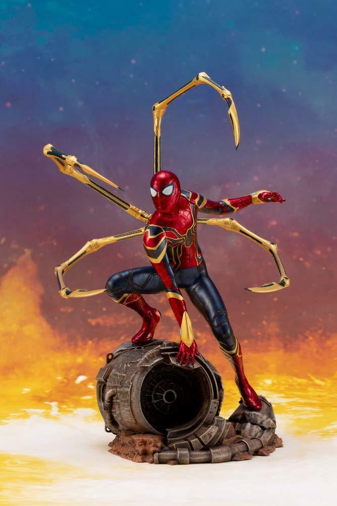 KOTOBUKIYA ARTFX+ Iron Spider Avengers   Infinity War 1 10 scale Japan version