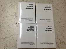 2002 Nissan ALTIMA Service Repair Shop Workshop Manual Set OEM Factory
