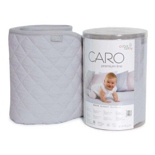 CARO Sommerdecke Leicht Babydecke Kinderdecke Zudecke 90x100 cm kühl