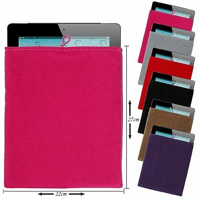 NEW Strap Soft Cloth Sleeve Velvet Sock Case Bag Pouch For iPad 2 3 4 5 Air 2