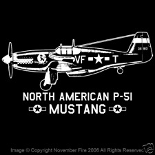 P-51 Mustang Muscle Shirt WW2 American Fighter Aircraft Air Force Sleeveless