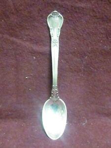 "Gorham Chantilly Sterling Silver Demitasse Spoon 4 1//8/"" No Mono Old Mark"