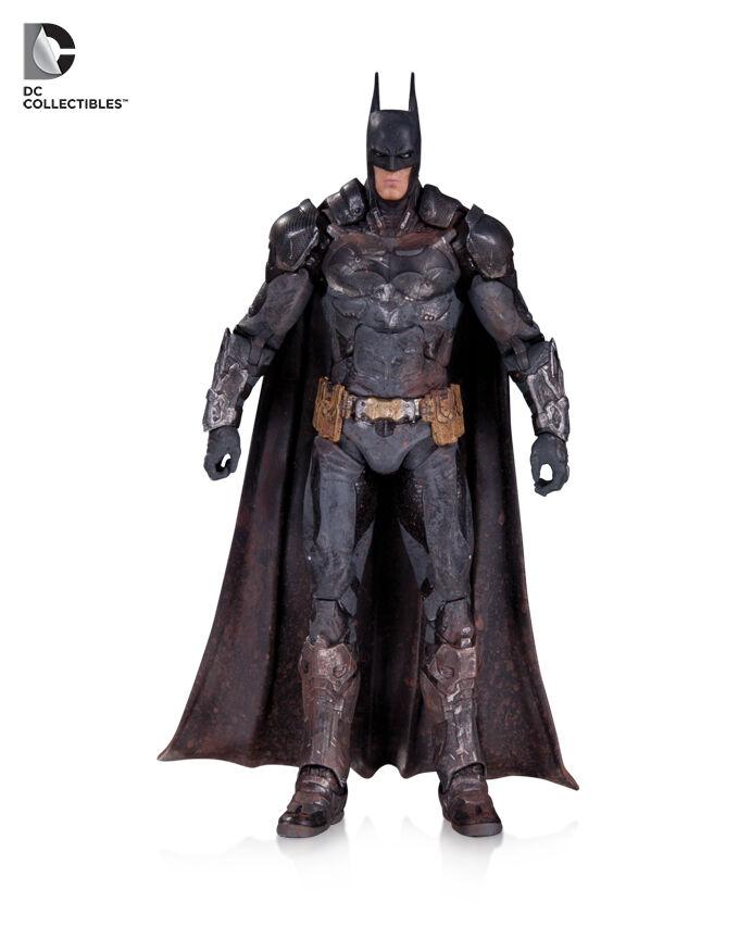 DC COLLECTIBLES ARKHAM KNIGHT BATMAN BATTLE DAMAGED Figura LIMITED EDITION RARE