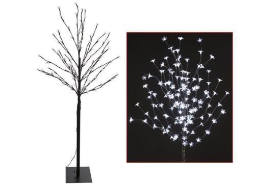 140 5FT OR 400 240CM PRE LIT ELEGANT LED BLOSSOM CHRISTMAS XMAS TREE
