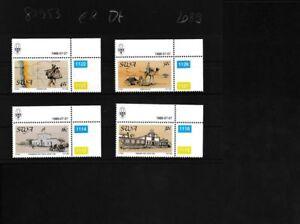 Namibie-Southwest-625-628-compleet-Kwestie-postfris-MNH-Eckrandstucke-mit-A