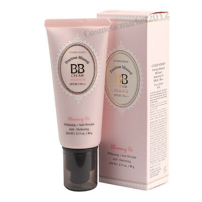 ETUDE HOUSE Precious Mineral BB Cream Blooming Fit 60g#W24 Honey Beige Free gift