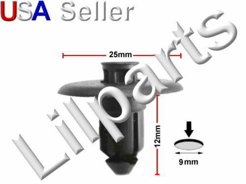 Lincoln LS Cowl Push Type Retainer Nylon Clip Ford Fastener W705956-S300