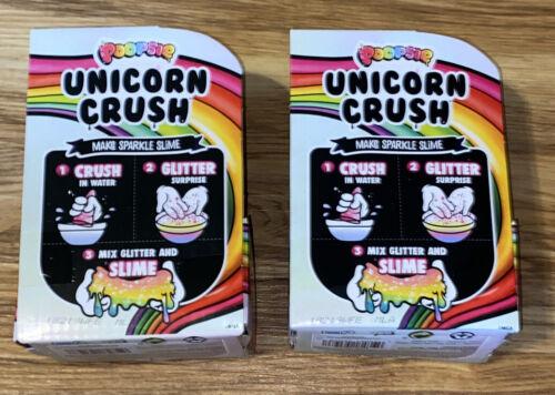 Poopsie Slime Surprise Lot Of 2 Unicorn Crush Make Sparkle Slime MGA New