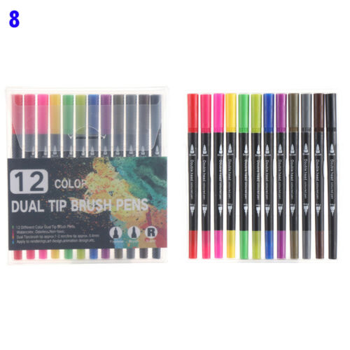 Artist Signature Soft Brush Pen Double-Headed Pen Marker Pen Set Art Markers